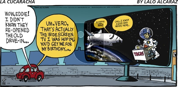 La Cucaracha on Sunday February 5, 2017 Comic Strip
