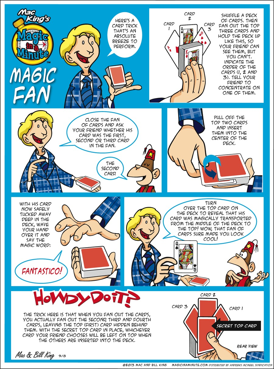 Magic in a Minute Comic Strip for September 08, 2019