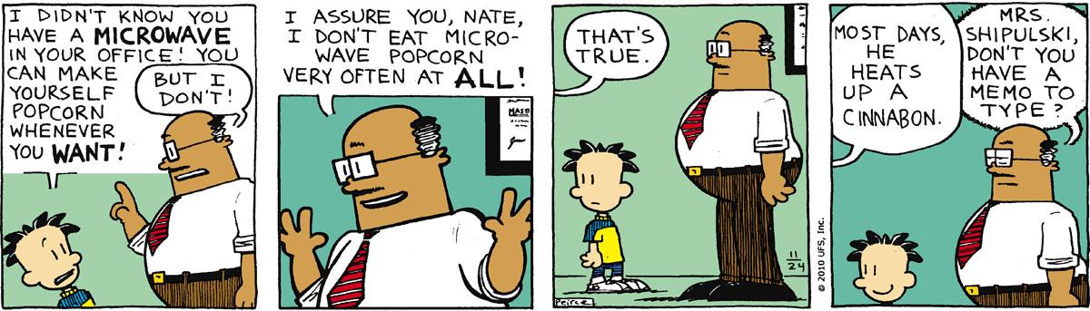 Big Nate Comic Strip for November 24, 2010