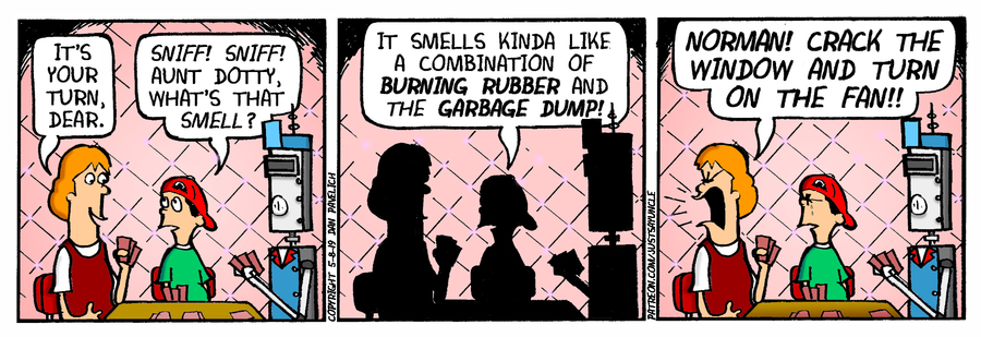 Just Say Uncle Comic Strip for May 08, 2019