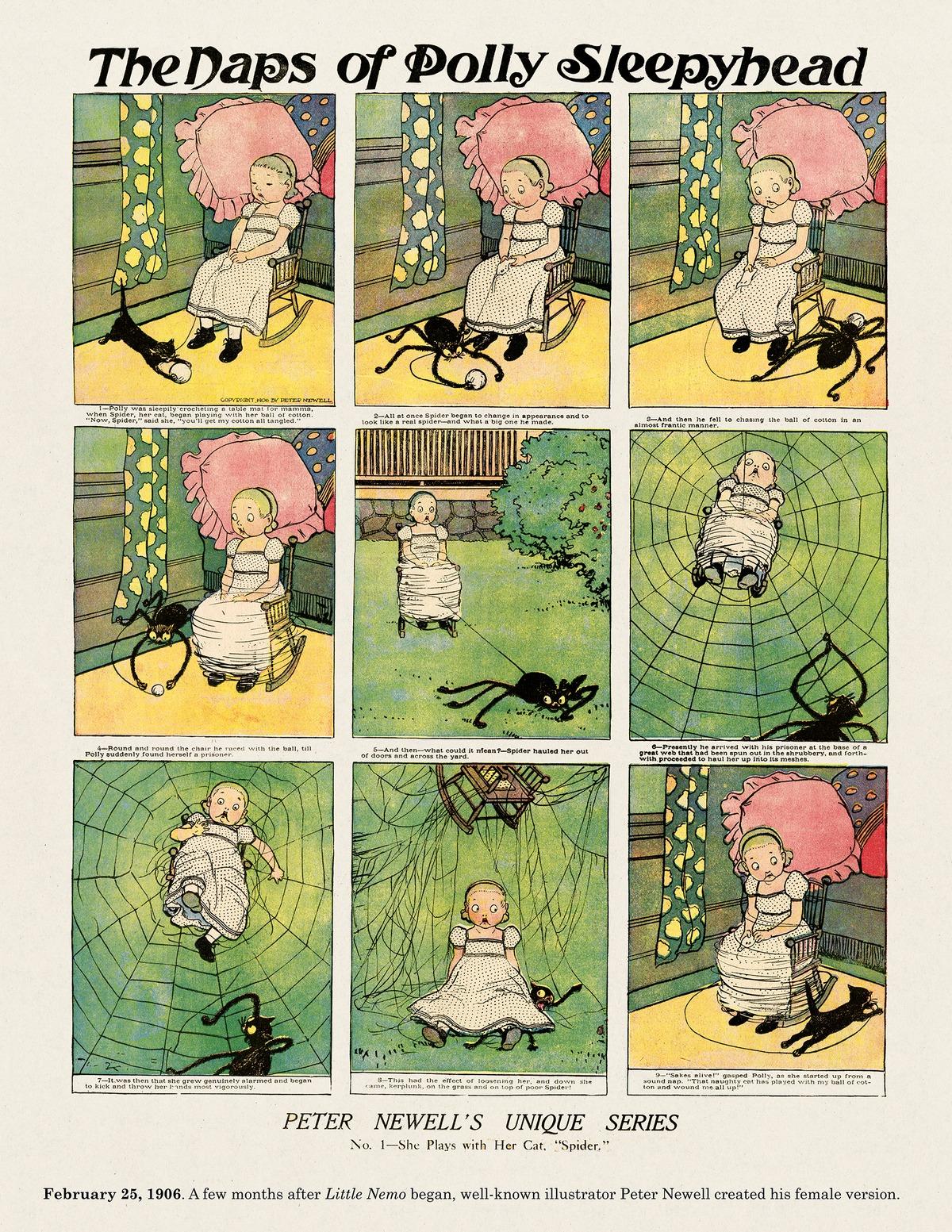 Origins of the Sunday Comics Comic Strip for November 02, 2014