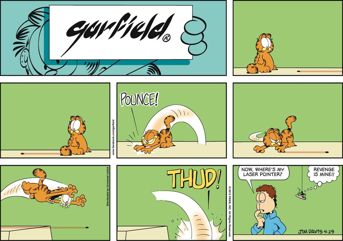 Garfield for Apr 29, 2012 Comic Strip