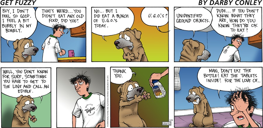 Get Fuzzy Comic Strip for May 26, 2019