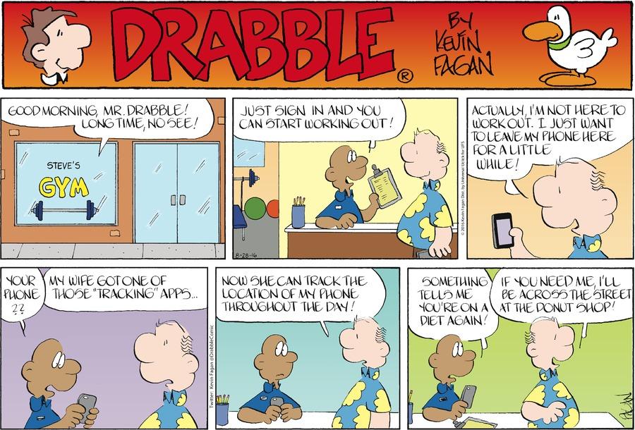 Drabble for Aug 28, 2016 Comic Strip