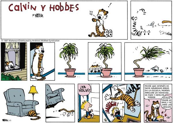 Calvin and Hobbes en Español