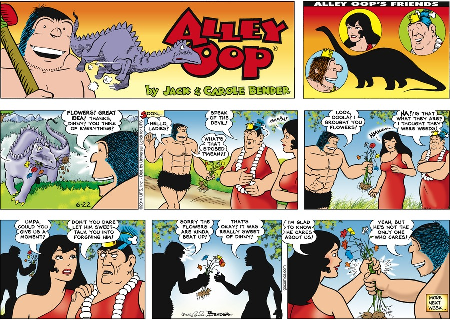 Alley Oop Comic Strip for June 22, 2014