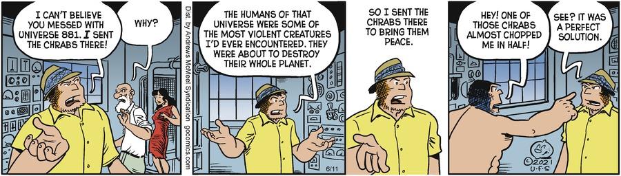 Alley Oop Comic Strip for June 11, 2021