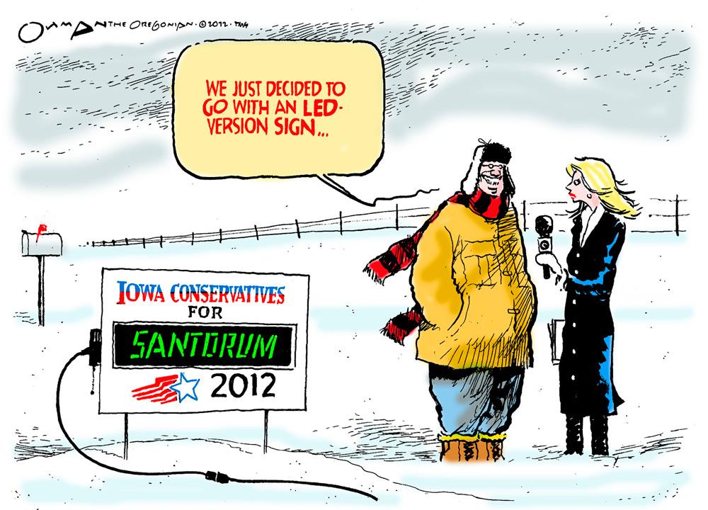 Jack Ohman Comic Strip for December 30, 2011