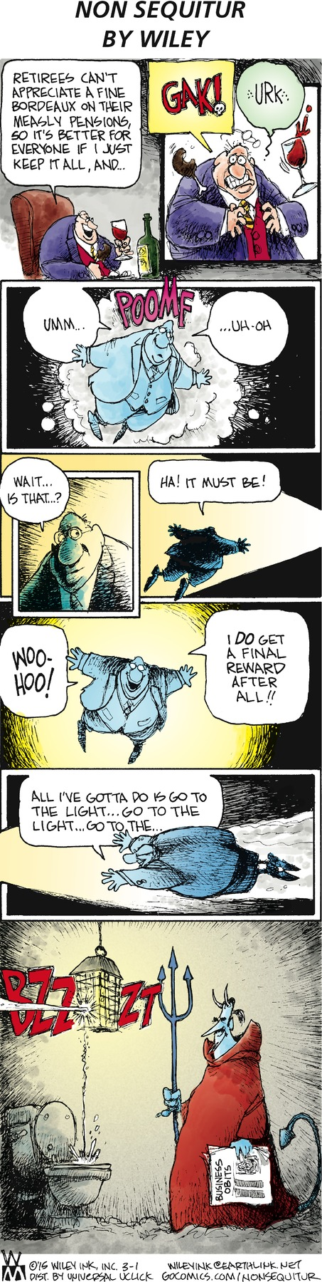 Non Sequitur Comic Strip for March 01, 2015