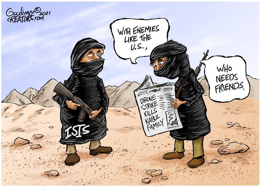 Al Goodwyn Editorial Cartoons Comic Strip for September 19, 2021