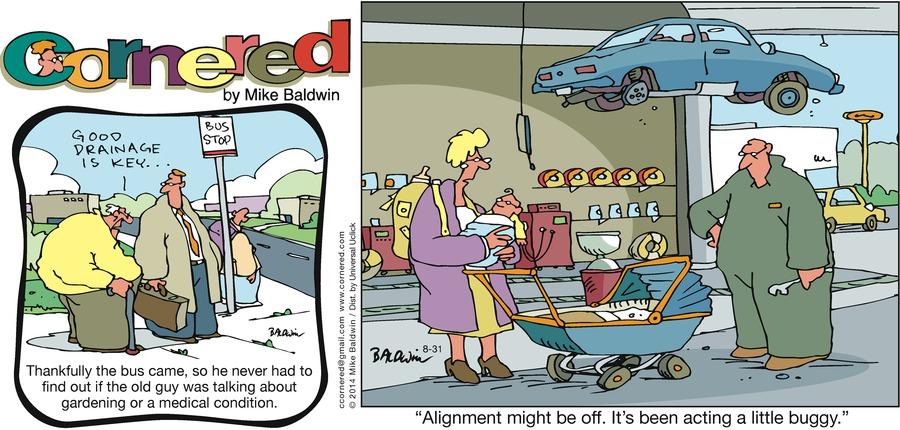 Cornered for Aug 31, 2014 Comic Strip