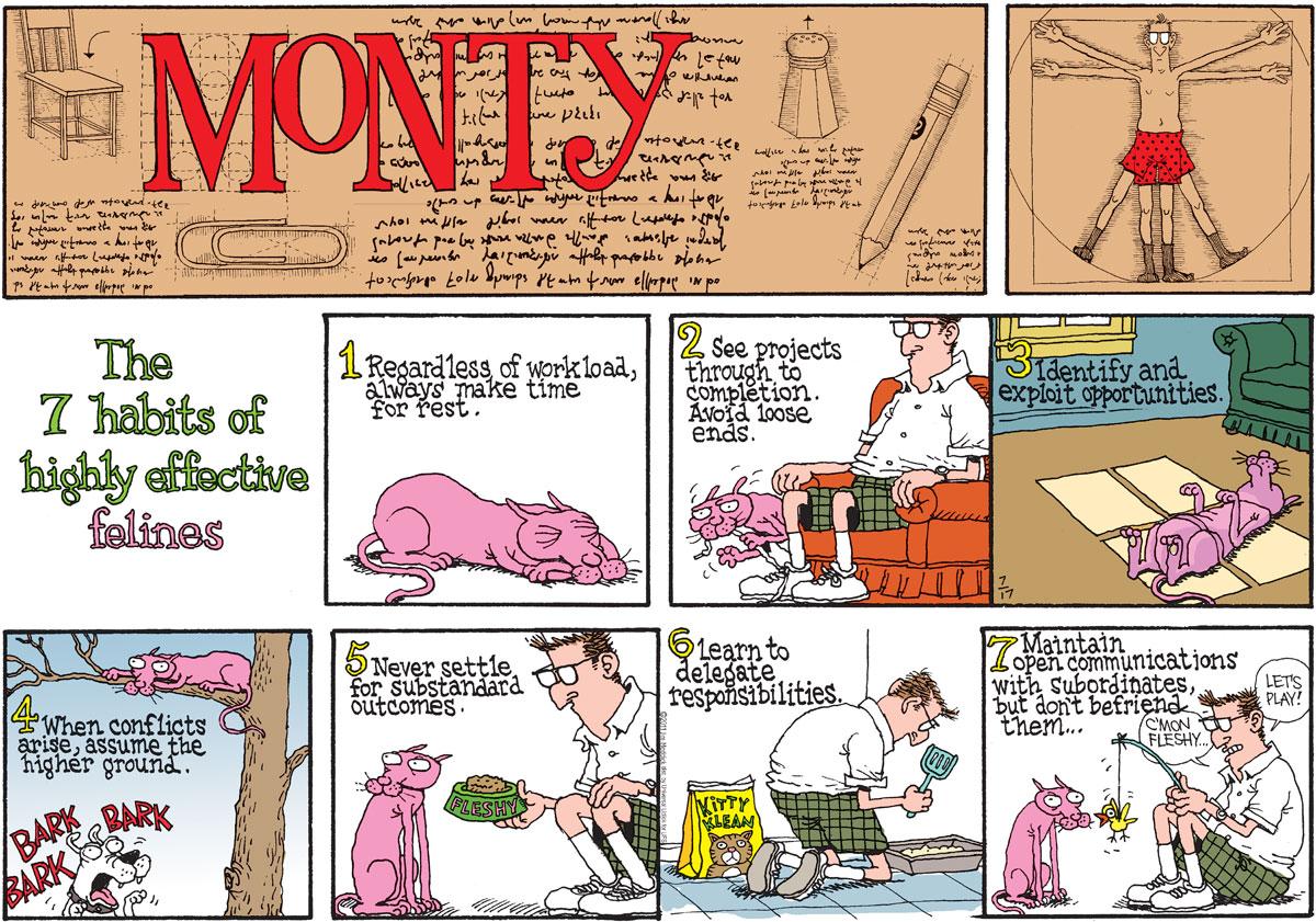 Monty for Jul 17, 2011 Comic Strip
