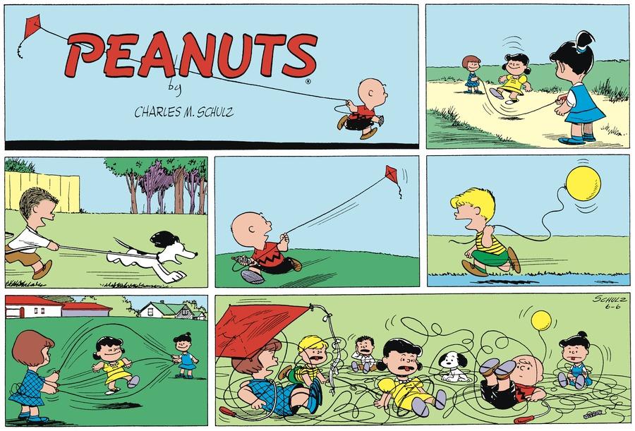 Peanuts Begins Comic Strip for September 06, 2018