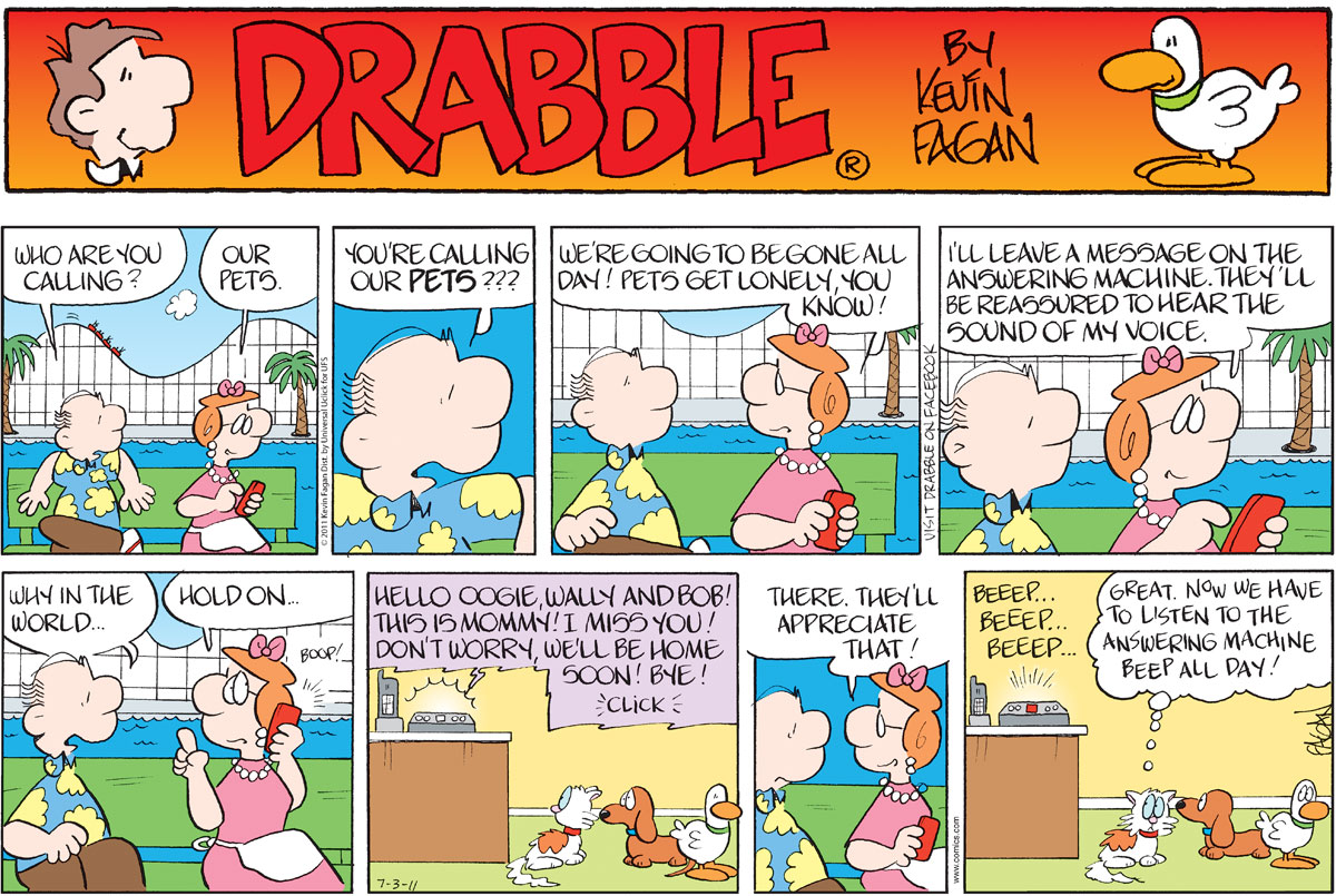 Drabble for Jul 3, 2011 Comic Strip