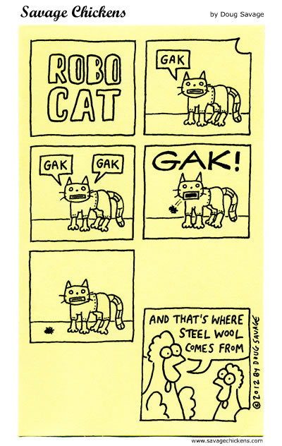 Robo Cat: GAk, Gak, gak, GAK! 