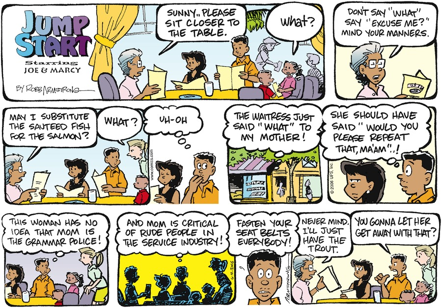 JumpStart Comic Strip for June 04, 2006