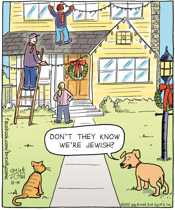 Dog: Don't they know we're Jewish?
