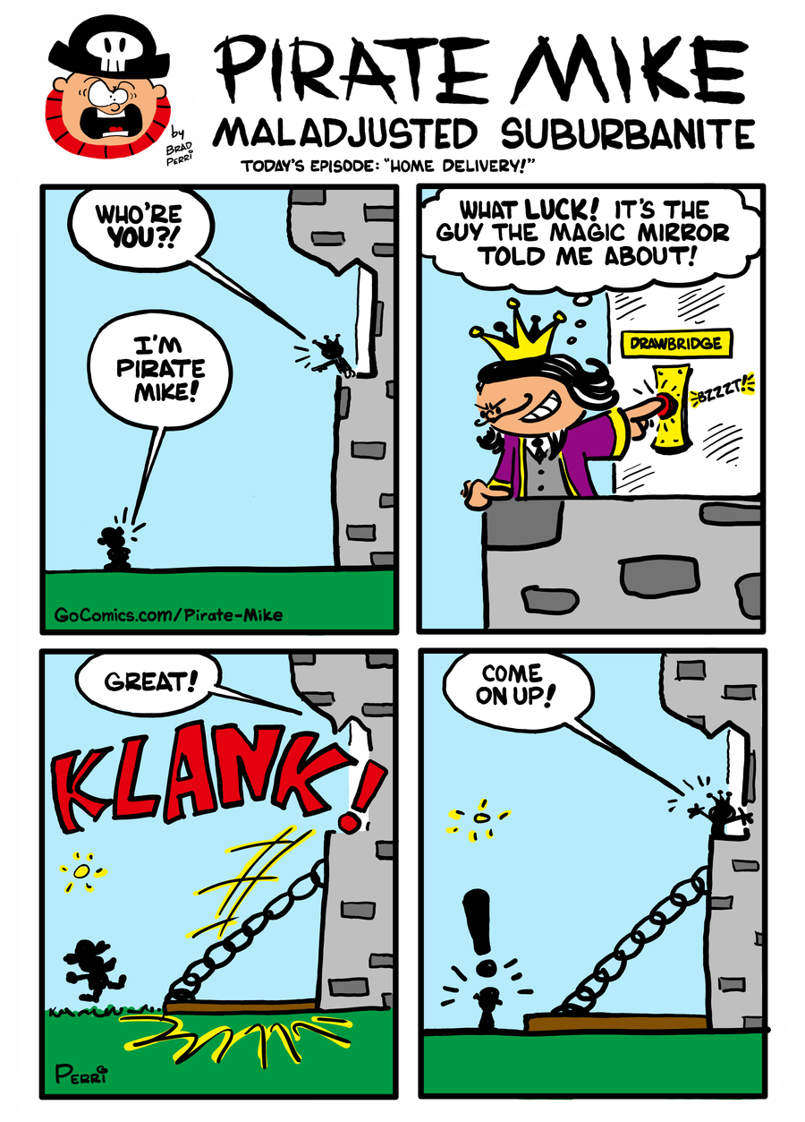 Pirate Mike Comic Strip for December 02, 2020