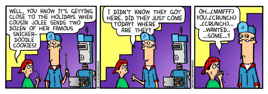 Just Say Uncle Comic Strip for November 17, 2018