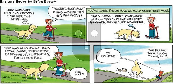 Red and Rover on Sunday May 13, 2012 Comic Strip