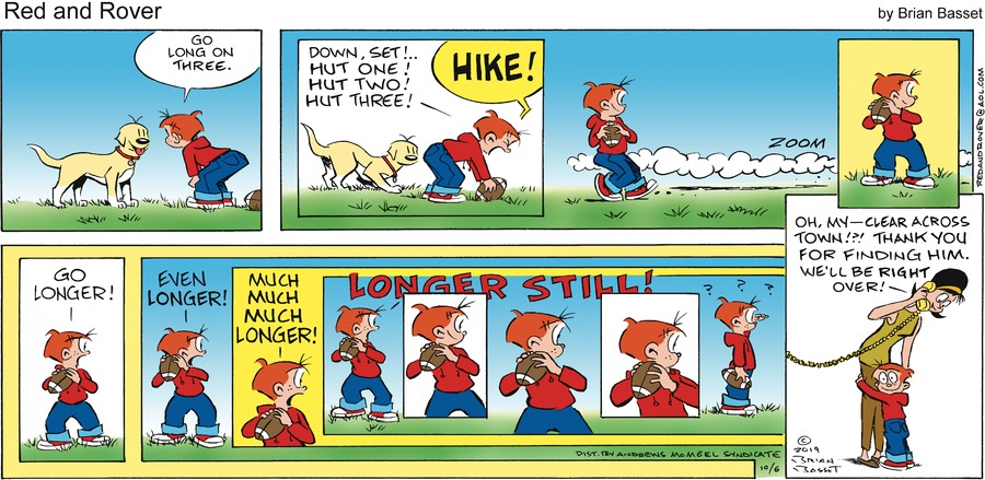 Red and Rover Comic Strip for October 06, 2019