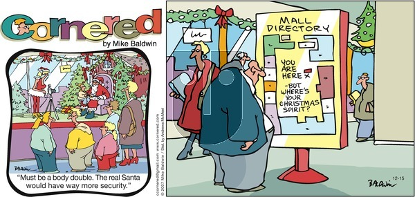 Cornered - Sunday December 15, 2019 Comic Strip