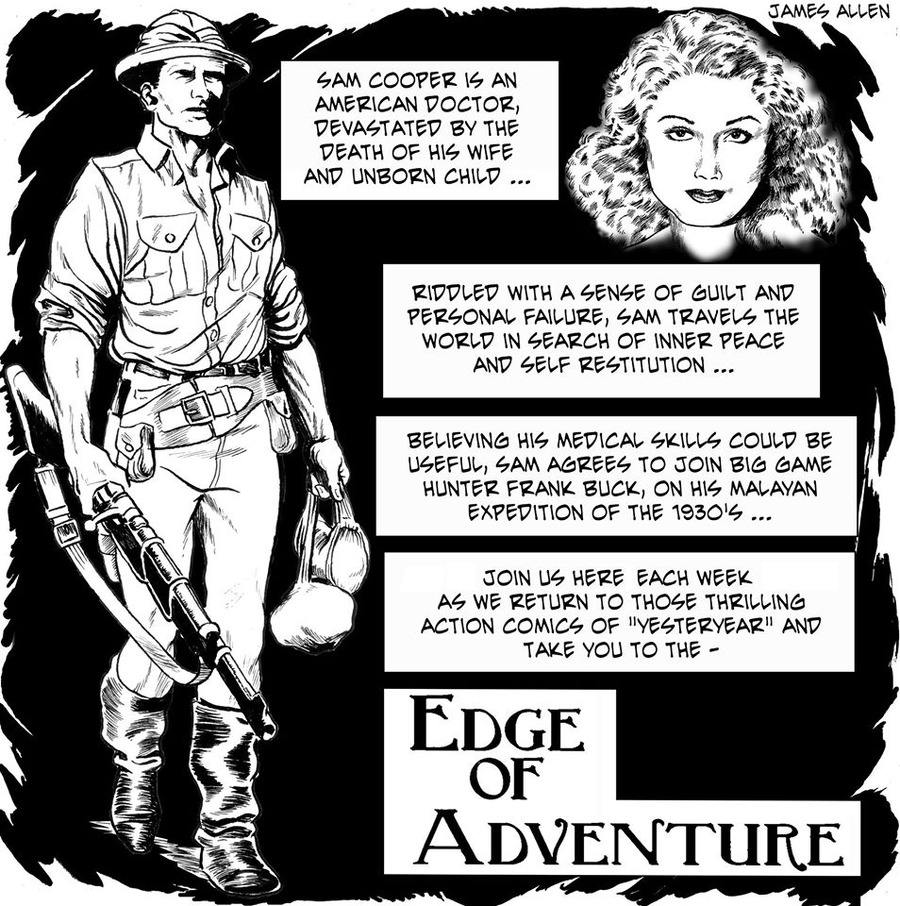 Edge of Adventure by James Allen and Brice Vorderbrug for July 28, 2019