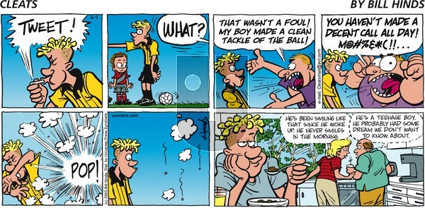 Cleats on Monday May 10, 2021 Comic Strip