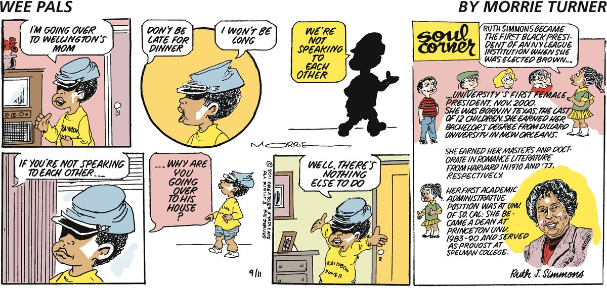 Wee Pals Comic Strip for September 11, 2011