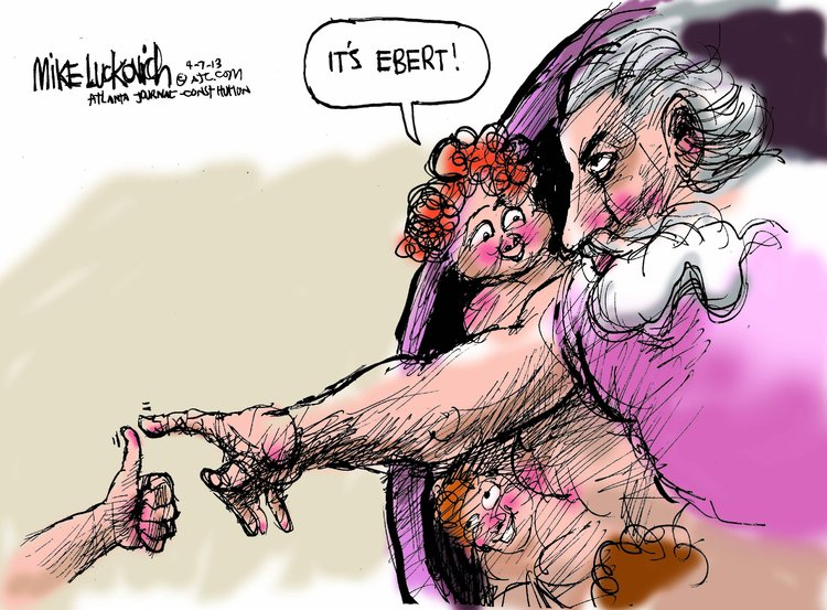 Mike Luckovich for Apr 7, 2013 Comic Strip