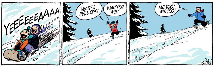 Ben for Jan 31, 2014 Comic Strip