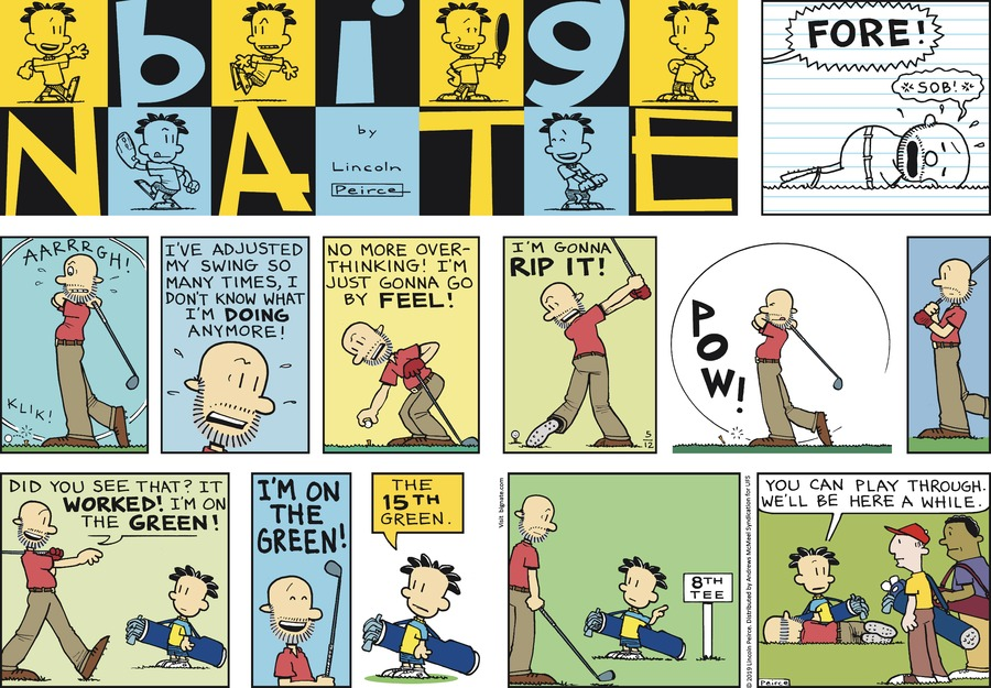 Big Nate by Lincoln Peirce for May 12, 2019