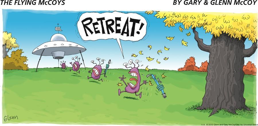 RETREAT!