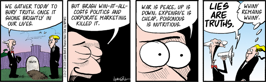 Rudy Park Comic Strip for February 24, 2021