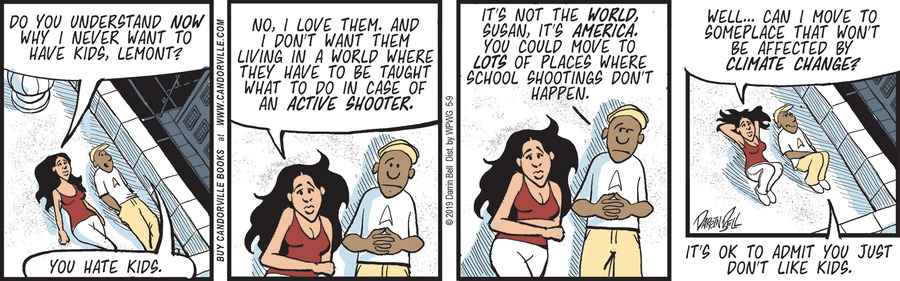 Candorville by Darrin Bell for May 09, 2019
