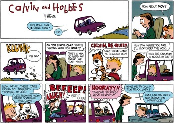 Calvin and Hobbes (February 23, 1986)