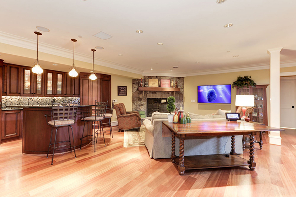 Atlantic Control Technologies, based in Annapolis, Maryland, upgraded a house with decade-old technologies. This functionality allows the user to control electronic systems from a keypad and was awarded a Best Integrated Home designation in 2017 from CEDIA.
