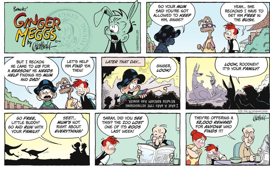 Ginger Meggs for Mar 30, 2014 Comic Strip