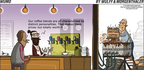 WuMo on Sunday July 5, 2020 Comic Strip