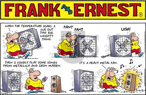 Frank and Ernest on Sunday July 12, 2020 Comic Strip