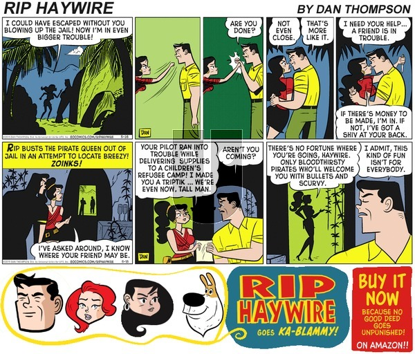 Rip Haywire on Sunday May 14, 2017 Comic Strip