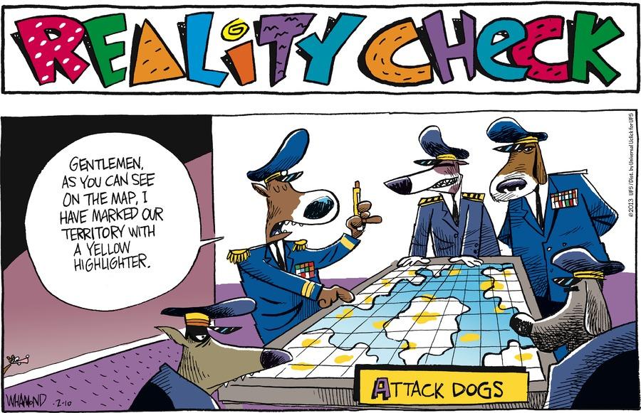 Reality Check for Feb 10, 2013 Comic Strip