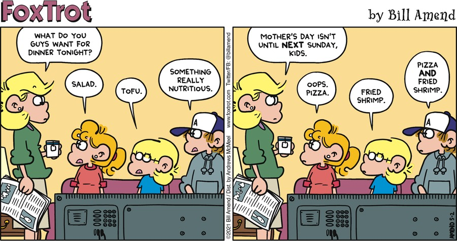 FoxTrot Comic Strip for May 02, 2021
