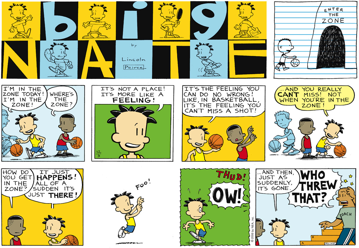 Big Nate Comic Strip for December 03, 2006