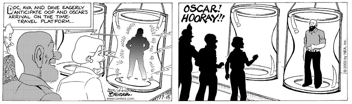 Alley Oop for July 15, 2003 Comic Strip
