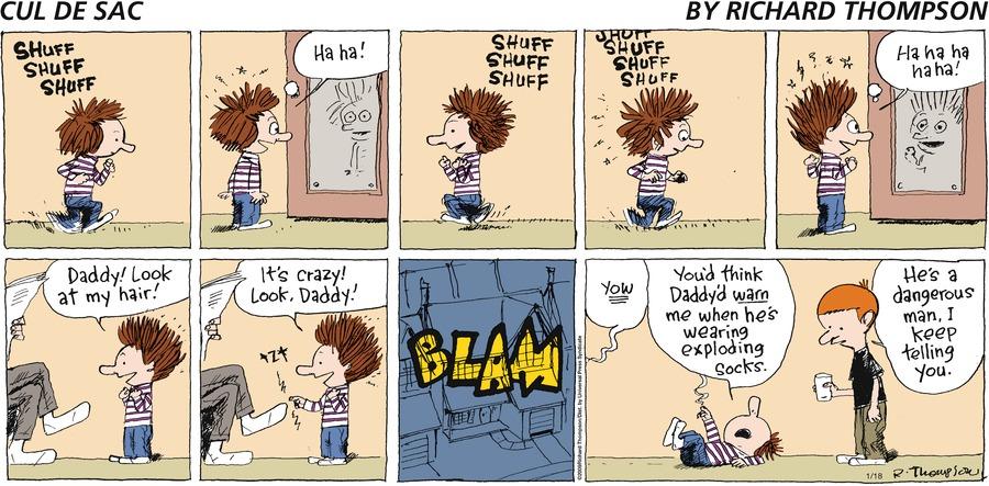 Cul de Sac Comic Strip for January 18, 2009