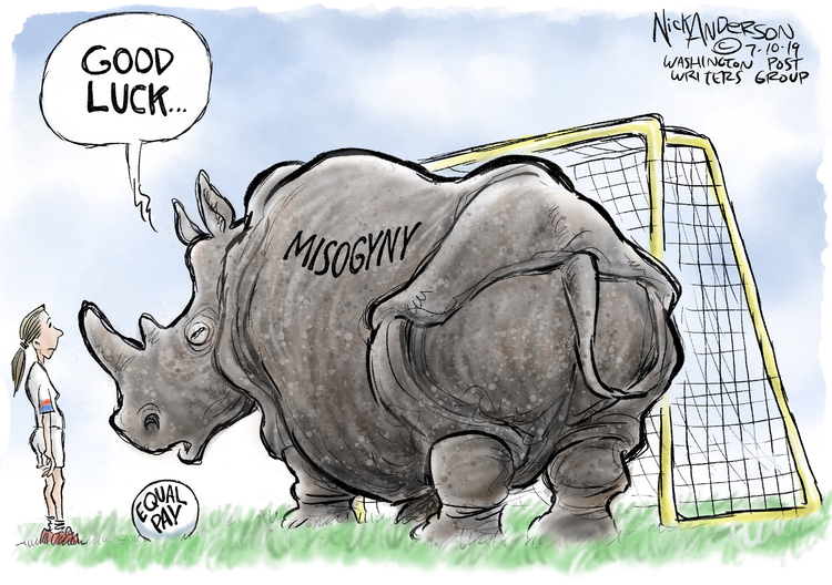 Nick Anderson Comic Strip for July 10, 2019