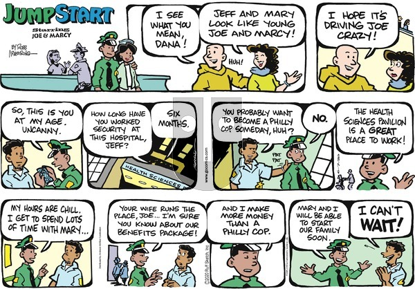 JumpStart on Sunday June 7, 2020 Comic Strip
