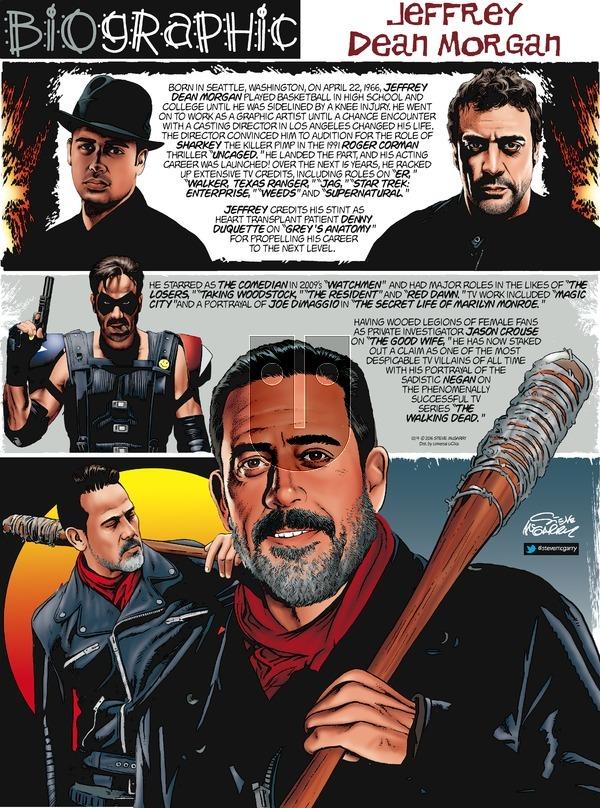 Biographic on Sunday December 4, 2016 Comic Strip