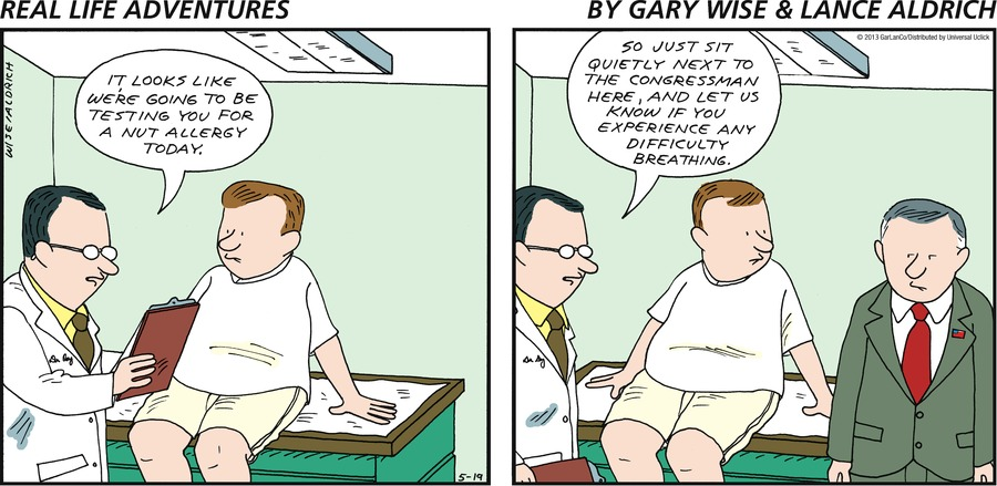 Real Life Adventures for May 19, 2013 Comic Strip